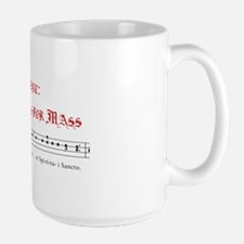 Gregorian chant large mug