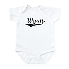 Wyatt Vintage (Black) Infant Bodysuit