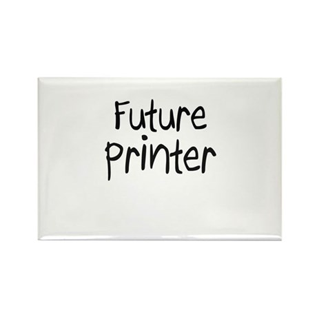 Future Printer Rectangle Magnet (10 pack)