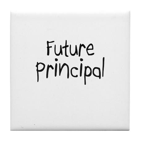 Future Principal Tile Coaster