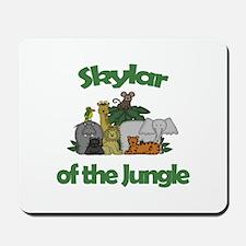 Skylar of the Jungle Mousepad