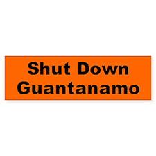 GUANTANAMO Bumper Bumper Sticker