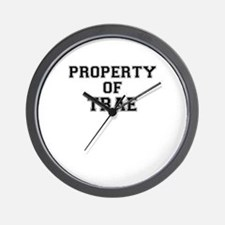 Property of TRAE Wall Clock