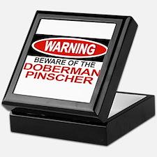 DOBERMAN PINSCHER Tile Box