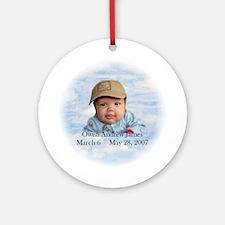 Owen Ornament (Round)