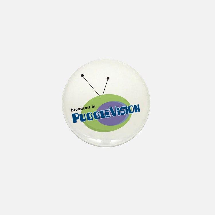PuggleVision Mini Button