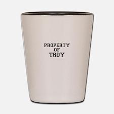 Property of TROY Shot Glass