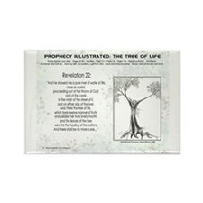Tree Of Life Bible Scripture Rectangle Magnet