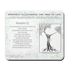 Tree Of Life Bible Scripture Mousepad