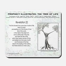 Tree Of Life Bible Scripture Mousepad