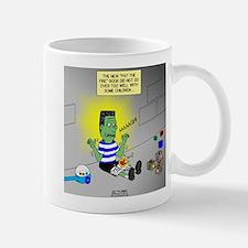 Bad Book for Frankenstein Mug