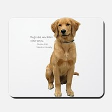 Golden Miracle Mousepad
