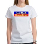 Anti-Bush Republican Women's T-Shirt