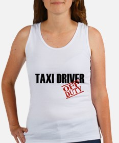 Off Duty Taxi Driver Women's Tank Top