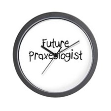 Future Praxeologist Wall Clock