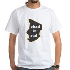 """Chad Iz Rad"" blue fill T-shirt!"