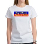 Republican Against Bush Women's T-Shirt