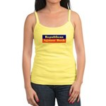 Republican Against Bush Jr. Spaghetti Tank