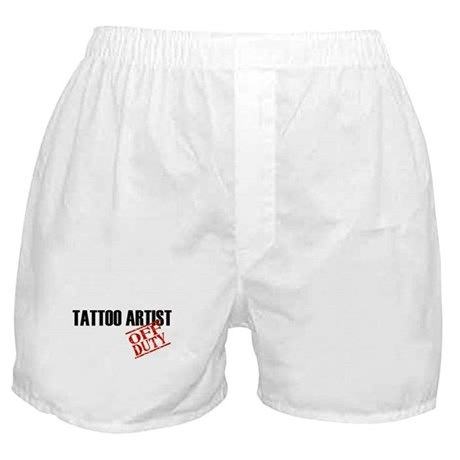 Off Duty Tattoo Artist Boxer Shorts