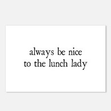 Lunch Lady Postcards (Package of 8)