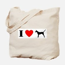 I Heart Smooth Podengo Tote Bag
