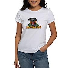 Black Labrador Retriever Obedience Tee