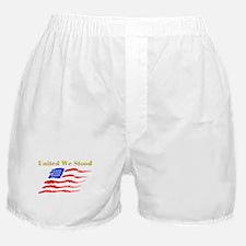United We Stood #1 Boxer Shorts