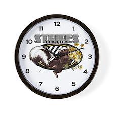 Skunk Wall Clock