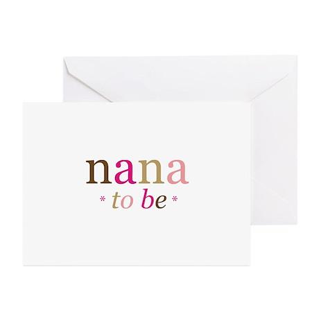Nana to be (fun) Greeting Cards (Pk of 20)