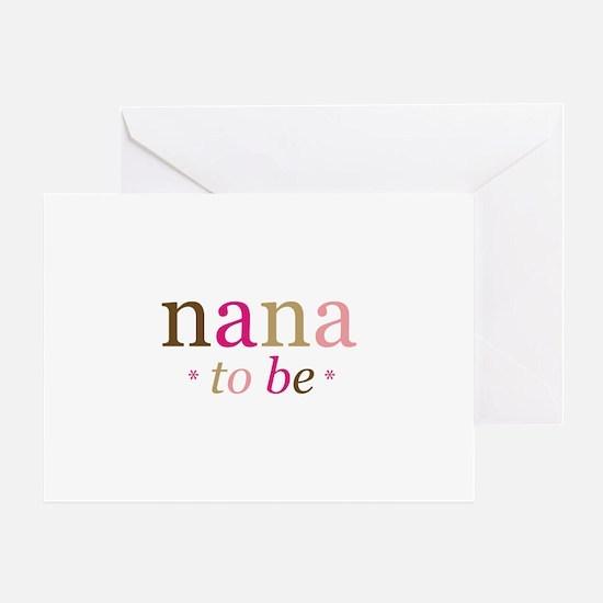 Nana to be (fun) Greeting Card