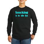 Anti-Smoking Long Sleeve Dark T-Shirt