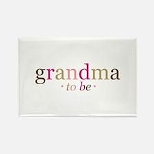 Grandma to be (fun) Rectangle Magnet
