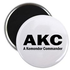 Komondor Commander Magnet