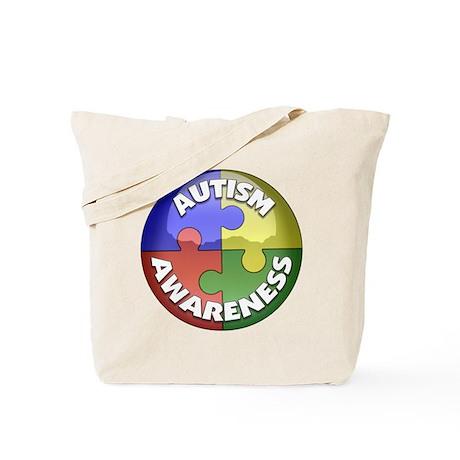 Autism Awareness Jewel Tote Bag