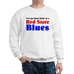 Red State Blues Sweatshirt