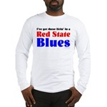 Red State Blues Long Sleeve T-Shirt
