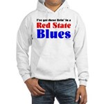 Red State Blues Hooded Sweatshirt