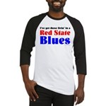 Red State Blues Baseball Jersey