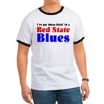 Red State Blues Ringer T