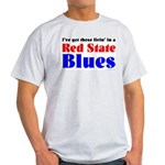 Red State Blues Light T-Shirt