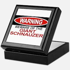 GIANT SCHNAUZER Tile Box