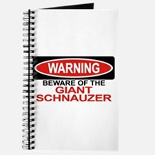GIANT SCHNAUZER Journal