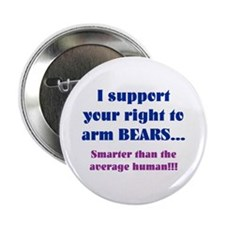 "Right to Arm Bears 2.25"" Button"
