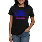 Right to Arm Bears Women's Dark T-Shirt