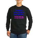 Right to Arm Bears Long Sleeve Dark T-Shirt
