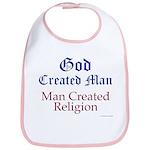 God and Man Bib