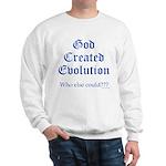 God Created Evolution #2 Sweatshirt