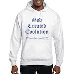 God Created Evolution #2 Hooded Sweatshirt