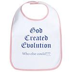 God Created Evolution #2 Bib