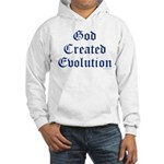 God Created Evolution #1 Hooded Sweatshirt